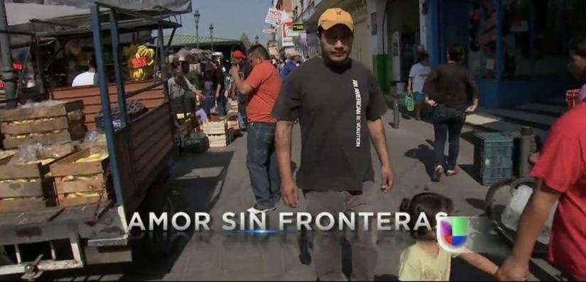 """Video: """"Amor Sin Fronteras,"""" on Univision's Aquí yAhora"""